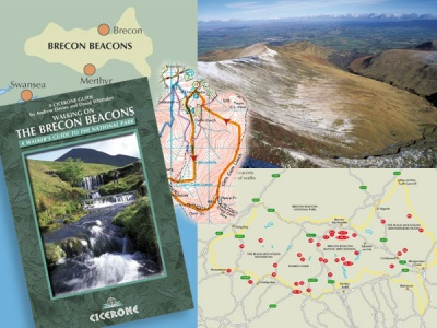 Walking On The Brecon Beacons - Book