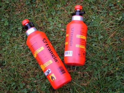 500ml and 300ml Fuel Bottle