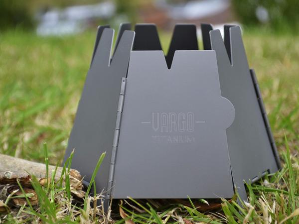 Titanium Folding Hex Wood Stove (T-415) - Backpackinglight.co.uk - Folding Wood Stove WB Designs