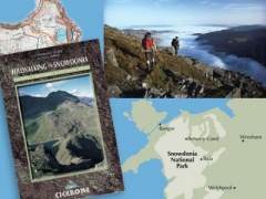 Hill Walking In Snowdonia - Book