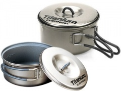 Non Stick Ti Pans 600ml and 900ml (ECA-411)
