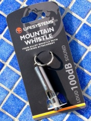 Mountain Survival Whistle (Assorted Colours)