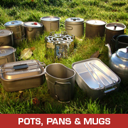 Pots, Pans and Mugs