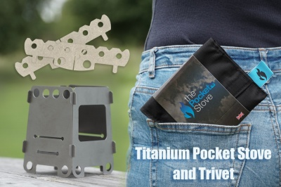 The Pocket Stove Ti - Titanium