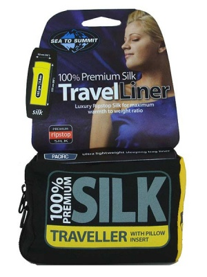 Premium Silk Travel Liner (Pillow)