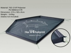 Hex Peak V4A Footprint/Groundsheet