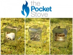 The Pocket Stove - Stainless Steel (Inc Trivet)