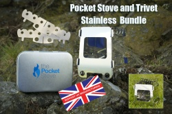 Pocket Stove and Trivet SS Bundle
